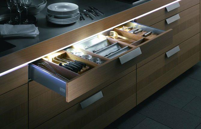 Подсветка для кухни под шкафы своими руками 36