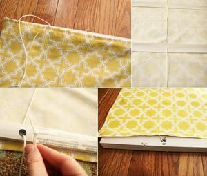 Рулонные шторы: простой пошив