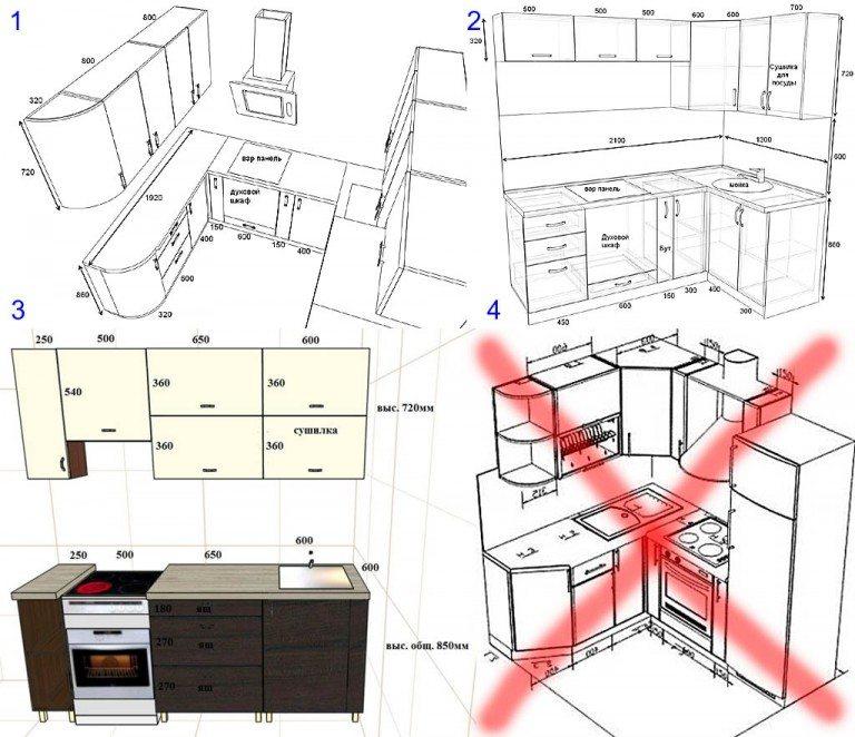 Сделать своими руками кухонный гарнитур чертежи и схемы 73