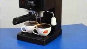 Инструкция пользования кофемашинки