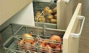 Системы хранения закрытого типа на кухне