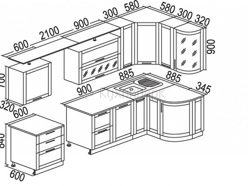 51Кухонную мебель своими руками чертежи