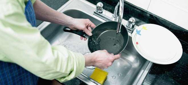 Как очистить сковороду от застарелого нагара: чугунную, алюминиевую, керамическую