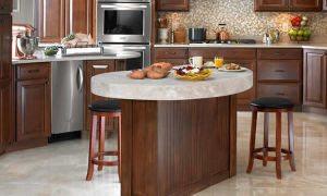 Мечтаешь о кухонном острове? Считаешь размеры стола и барной стойки? Смотри на фото нашего острова на кухне