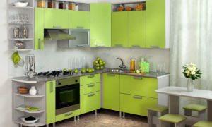 Зеленая кухня в интерьере: фото, правила сочетания цветов