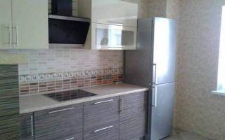 Дизайн угловой бежевой кухни 10 кв.м
