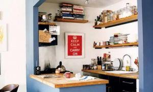 Правила ремонта маленькой кухни