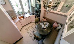 Кухня 12 кв м под старину от «ЗОВа». Интерьер из «Квартирного вопроса»