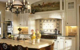 Кухня в деревне: особенности «деревенского» стиля, рекомендации по оформлению