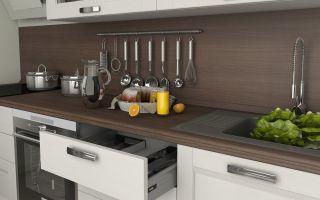 Какого стандартного размера и какая толщина столешницы кухни должна быть?