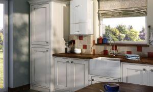Дизайн кухни с газовой колонкой – как разместить оборудование и сэкономить пространство