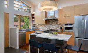 Современный дизайн кухни 10 кв м с фото — новинки