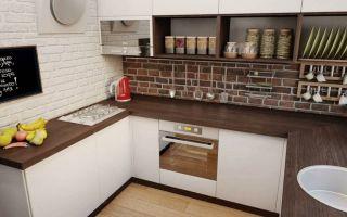 Дизайн, планировка маленькой кухни 6 кв.м. (фото)