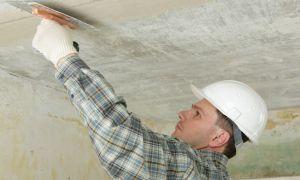 Как правильно шпаклевать потолок: инструменты, подготовка поверхности