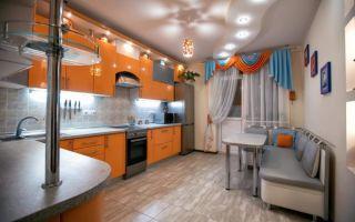 Какой потолок лучше сделать на кухне: выбор материалов, примеры разных стилей