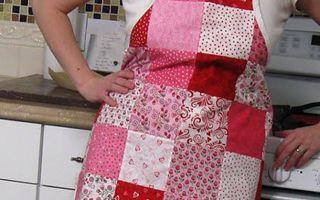 Идеи выкройки фартука для кухни: шьем своими руками