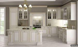Кухни-классика: дизайн в классическом стиле (фото)