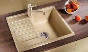 Раковина из искусственного камня на кухню: как выбрать, монтаж, уход за поверхностью, особенности