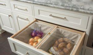 Полезные идеи хранения овощей на кухне, советы хозяек