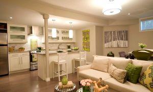 Интерьер кухни гостиной: нюансы перепланировки, фото, стили дизайна, освещение