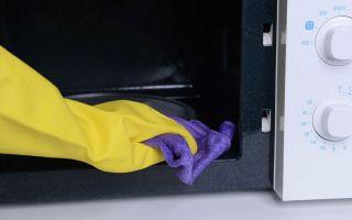 Как легко очистить микроволновку: народные и химически средства, профилактика загрязнений