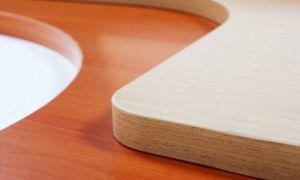 ЛДСП и МДФ — это недорогие материалы для использования в отделке