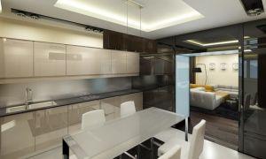 Ремонт на кухне студии? Какой же выбрать дизайн? Фото интерьера