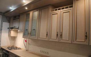 Угловая кухня площадью 8 кв.м