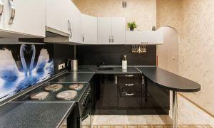 Угловая кухня с барной стойкой: лучшие примеры, подбираем стиль интерьера