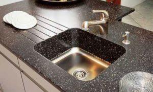 Мойка из искусственного камня на кухне – стиль элегантности. Какие плюсы и минусы каменной раковины? Фотографии