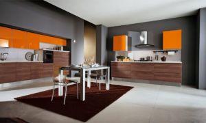 Серая кухня в интерьере с фото
