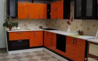 Кухня в оранжевом цвете с фото: дизайн и стили