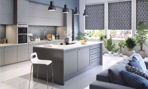 Современные жалюзи на кухню – разновидности конструкций и материалов