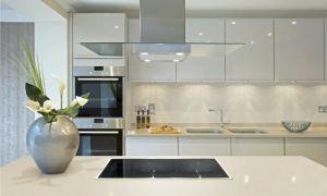 Белые кухни: дизайн интерьера, фото. Сочетание зеленых и других тонов в этом стиле