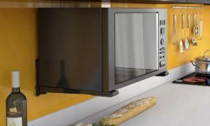 Кронштейн для микроволновки: выбор и установка
