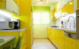 Кухня желтая — оформляем интерьер в солнечных оттенках