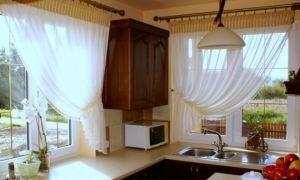 Тюль для кухни: новинки в кухонном дизайне интерьера