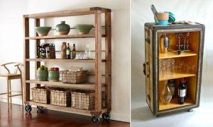 Этажерка для кухни: как выбрать, какие бывают, как сделать своими руками