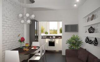 Основные правила освещения в кухне-гостиной