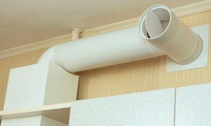 Как подключить вытяжку на кухне к вентиляции: инструкция, выбор воздухоотвода, монтаж