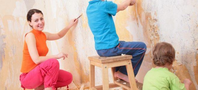 Как быстро и легко отклеить старые обои от стены?