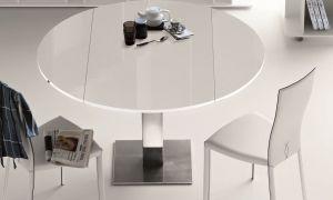 Круглые раздвижные столы на кухню: как выбрать, плюсы и минусы