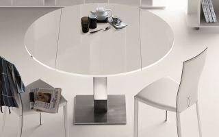Круглые раздвижные столы на кухню. Как выбрать?