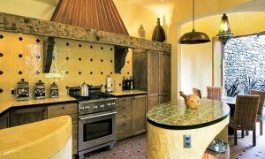 Кухня в средиземноморском стиле: фото, мебель, особенности, декорирование