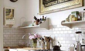 Кухня без верхних навесных шкафов – дизайн с фото