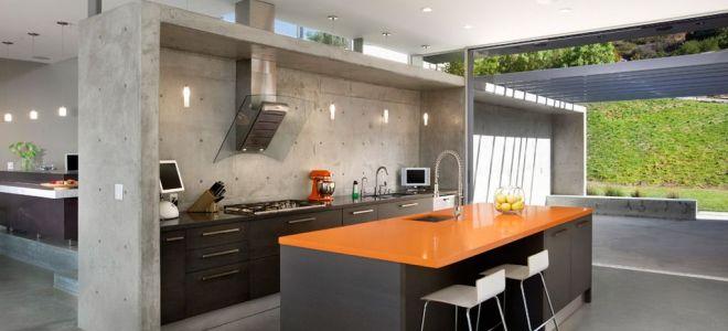Правильное сочетание цветов в интерьере кухни в стиле минимализм