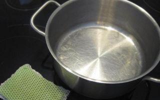 Как отмыть и очистить пригоревшую кастрюлю из нержавейки?