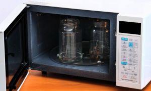 Стерилизация банок в микроволновке – самый простой и быстрый способ подготовки тары для заготовок