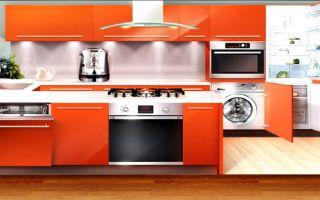Какой должна быть высота кухонного гарнитура?