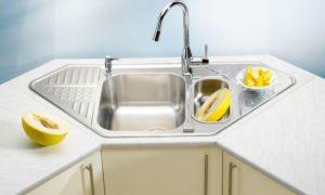 Виды моек для кухни. Как выбрать раковину из нержавейки? Каких размеров они бывают?